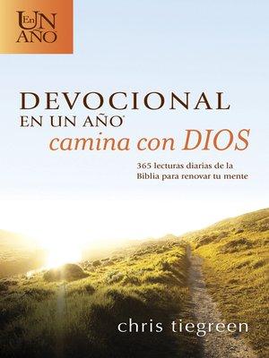 cover image of Devocional en un año — Camina con Dios