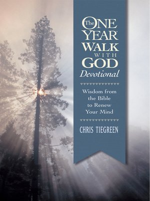 cover image of The One Year Walk with God Devotional