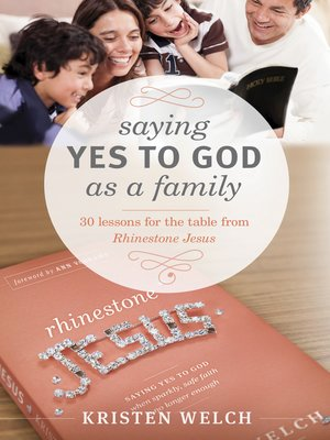 cover image of Saying Yes to God As a Family