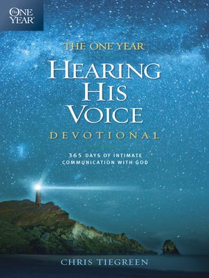 cover image of The One Year Hearing His Voice Devotional