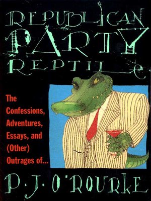 cover image of Republican Party Reptile