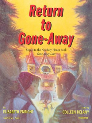 cover image of Return to Gone-Away