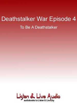 cover image of To be a Deathstalker