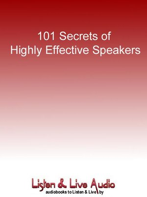 cover image of 101 Secrets of Highly Effective Speakers