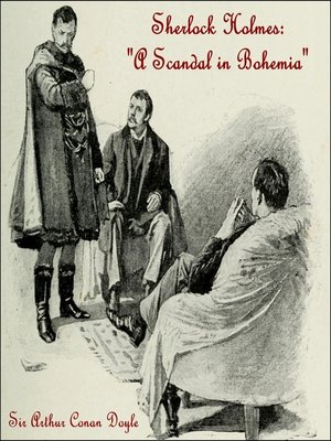 cover image of A Scandal in Bohemia