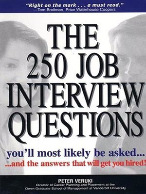 cover image of The 250 Job Interview Questions You'll Most Likely Be Asked...