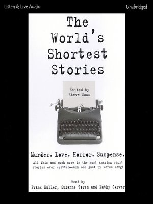 cover image of The World's Shortest Stories