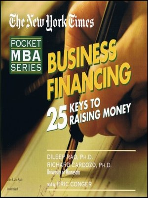 cover image of Business Financing