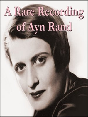 cover image of A Rare Recording of Ayn Rand