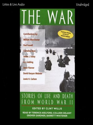 cover image of The War