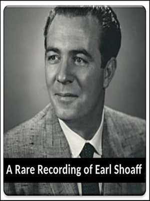 cover image of A Rare Recording of Earl Shoaff