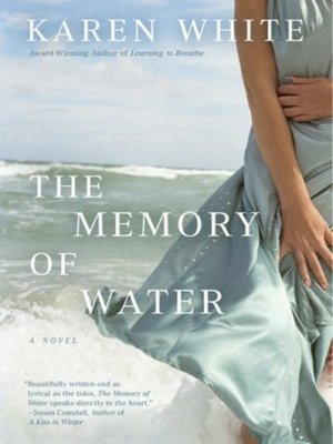cover image of The Memory of Water
