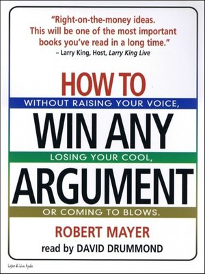 cover image of How to Win Any Argument