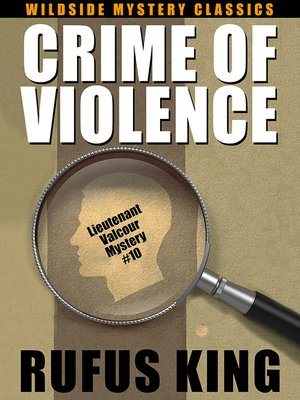cover image of Crime of Violence