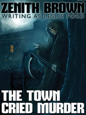 cover image of The Town Cried Murder