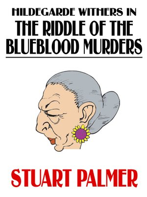 cover image of The Riddle of the Blueblood Murders
