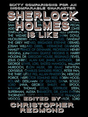 cover image of Sherlock Holmes Is Like