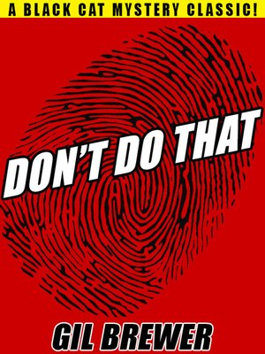 cover image of Don't Do That