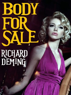 cover image of Body for Sale