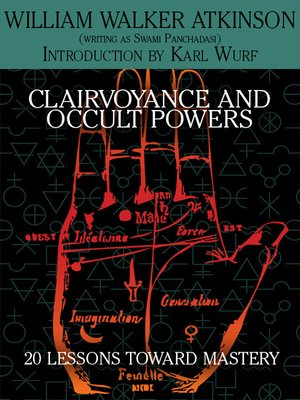 cover image of Clairvoyance and Occult Powers