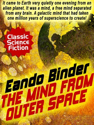 cover image of The Mind from Outer Space