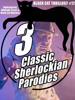 cover image of 3 Sherlockian  Parodies