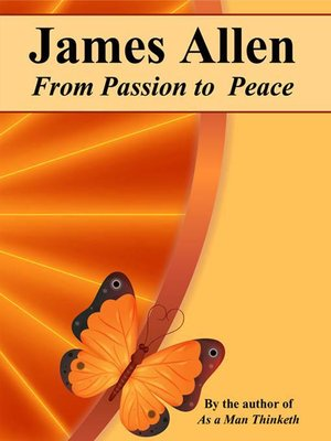 cover image of From Passion to Peace