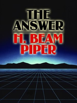 cover image of The Answer