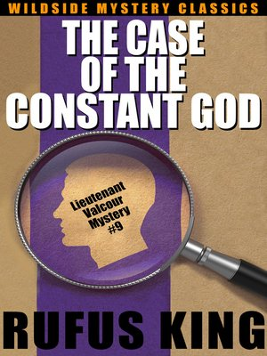 cover image of The Case of the Constant God