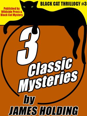cover image of 3 Classic Mysteries by James Holding