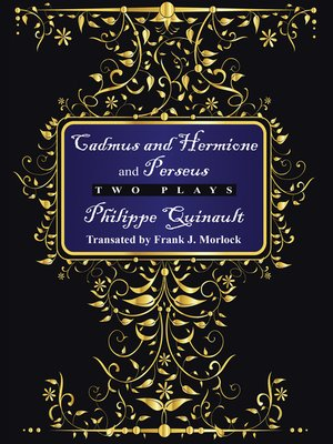 """cover image of """"Cadmus and Hermione"""" and """"Perseus"""""""