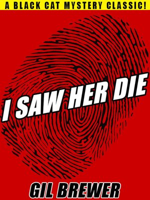 cover image of I Saw Her Die