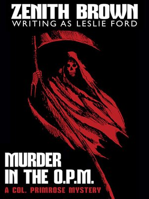 cover image of Murder in the O.P.M.