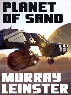 cover image of Planet of Sand
