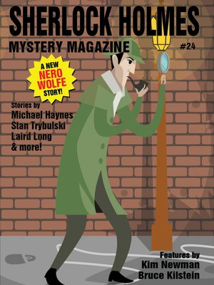 cover image of Sherlock Holmes Mystery Magazine #24
