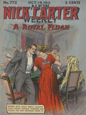 cover image of A Royal Flush, or, Nick Carter's Pursuit of a Living Mystery