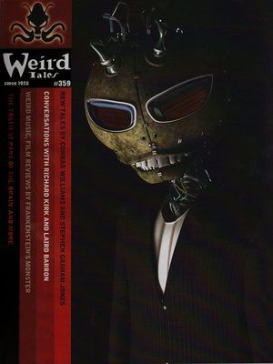 cover image of Weird Tales, Volume 359