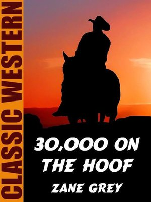 cover image of 30,000 On the Hoof