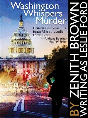 cover image of Washington Whispers Murder