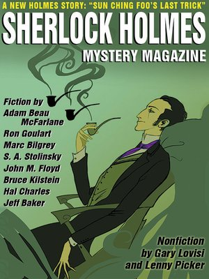 cover image of Sherlock Holmes Mystery Magazine, Volume 8