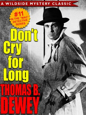 cover image of Don't Cry For Long