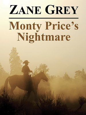 cover image of Monty Price's Nightmare