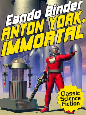 cover image of Anton York, Immortal