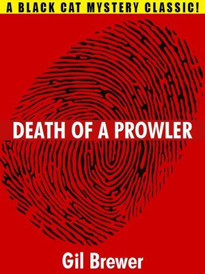 cover image of Death of a Prowler