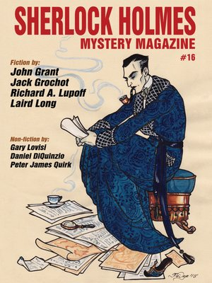 cover image of Sherlock Holmes Mystery Magazine, Volume 16
