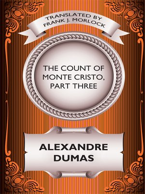 cover image of The Count of Monte Cristo, Part Three