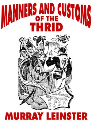 cover image of Manners and Customs of the Thrid