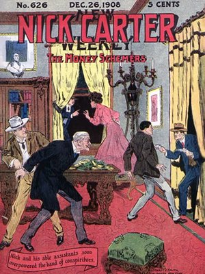 cover image of The Money Schemers (Nick Carter #626)