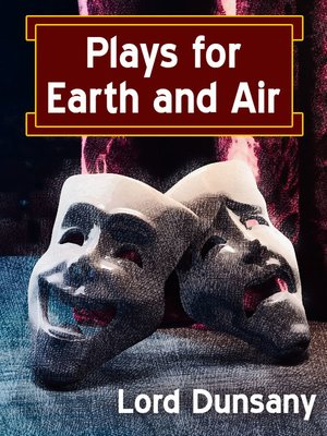 cover image of Plays for Earth and Air