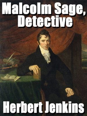 cover image of Malcolm Sage, Detective
